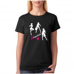 Shopaholic - Dámské Tričko s vtipným potiskem