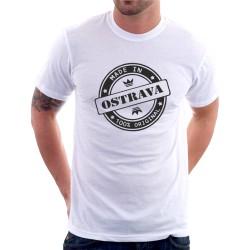 Pánské tričko s potiskem Made in Ostrava