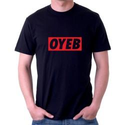 Pánské tričko OYEB, parodie na oblečení OYEB