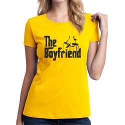 The Boyfriend - Dámské Tričko s vtipným potiskem