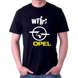 Opel - Pánské Tričko s vtipným potiskem