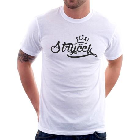 Pánské tričko Strýček s korunkou, dárek pro strejdu