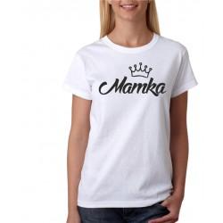 Dámské tričko Mamka s korunkou, dárek pro maminku