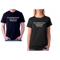 Hashtag - Dámské Tričko pro zamilované páry