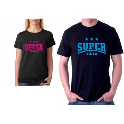 Super Táta - Dárkové pánské tričko pro super tatínky