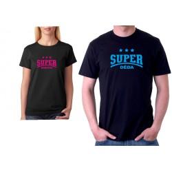 Super Děda - Dárkové pánské tričko pro super dědečky