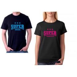 Super Babička - Dámské dárkové tričko pro babičky