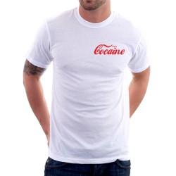 Vtipné tričko Enjoy Cocaine