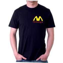 Im Loving It - Pánské tričko s vtipným potiskem