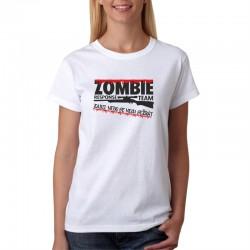 Zombie Response Team Zabij. Nebo se nech sežrat - Dámské Tričko s vtipným potiskem