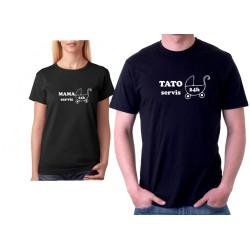 TATO Servis 24 Hodin - Pánské tričko pro tatínky