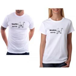 Dámské těhotenské tričko MAMA Servis 24 hodin
