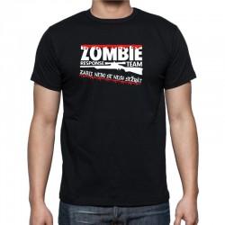 Pánské tričko s vtipným potiskem Zombie Response Team Zabij, nebo se nech sežrat