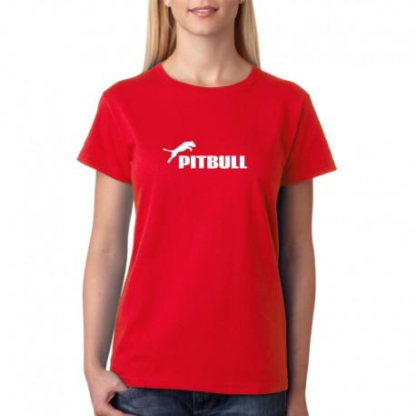 05c1cc8d6ca5 PITBULL - Dámské tričko s vtipným motivem