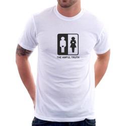 The Awful Truth - Pánské tričko s vtipným motivem
