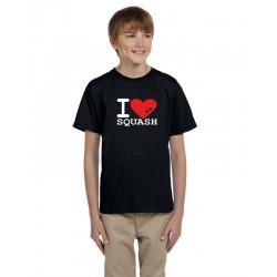 I Love SQUASH - Dětské tričko pro hráče squashu