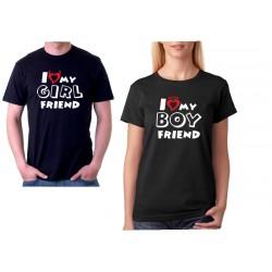 Dárek pro přítelkyni. I love my BOYFRIEND