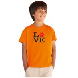 a61877a752a3 I Love pejsky - Dětské tričko s motivem o pejscích