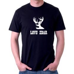 Lovu Zdar - Pánské tričko s vtipným potiskem