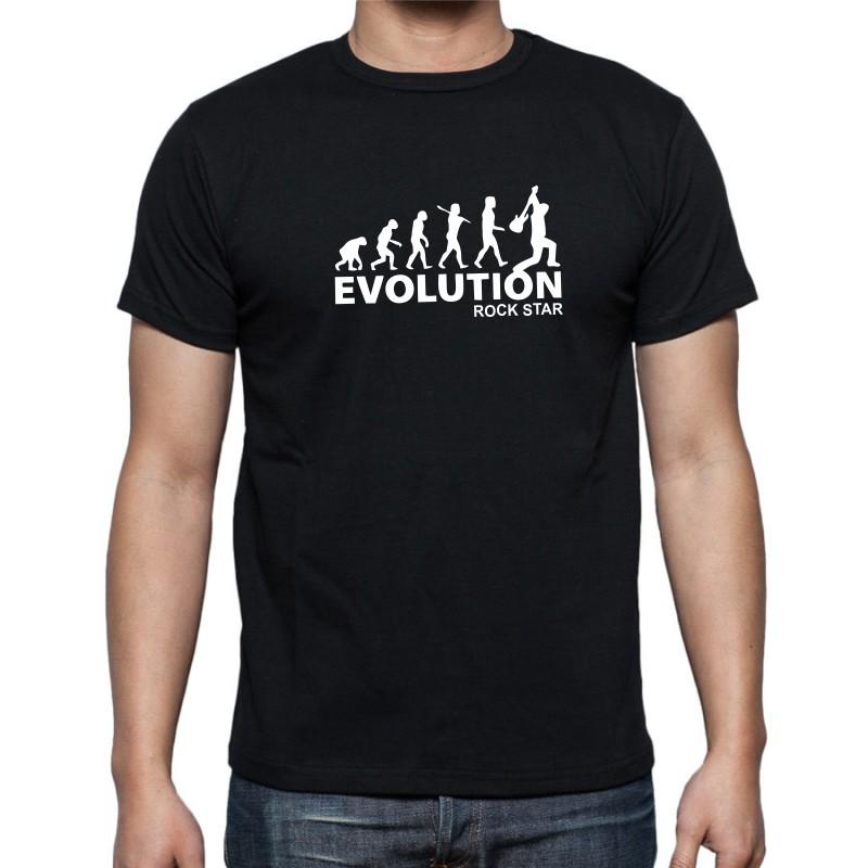 20ccb57dfc6 Pánské tričko Evolution Rock Star jse ideálním dárkem pro muže