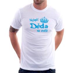 Pánské tričko s vtipným potiskem Nejlepší děda na světě