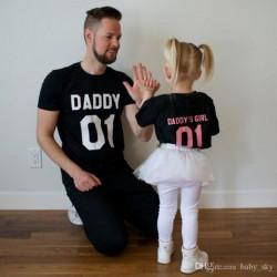 Daddy 01 - Pánské tričko s potiskem pro tatínky