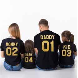 Baby 04 - Dětské tričko s potiskem baby a číslicí