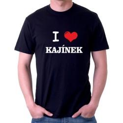 I love Kajínek - vtipné pánské tričko, miluji Kajínka
