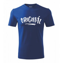 Originál - Pánské tričko pro muže s nápisem originál