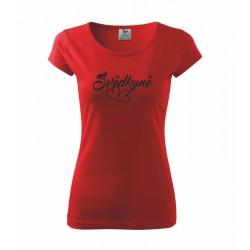 Svědkyně - Dámské Tričko pro ženy, které jsou svědkyně