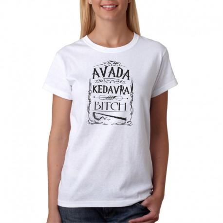 Avada Kedavra - Dámské Tričko s vtipným potiskem