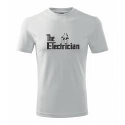 The Electrician - Pánské vtipné tričko pro elektrikáře