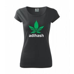 Dámské tričko Adihash s potiskem přes celé prsa