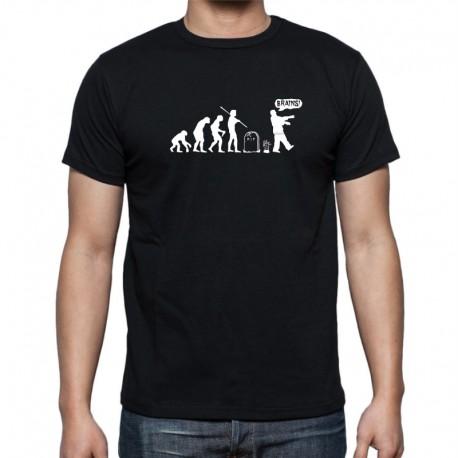 Pánské triko Evoluce Zombie