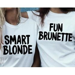 Smart Blonde - Dámské tričko pro chytrou blondýnku