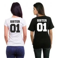 Sister 01 - Dámské tričko s potiskem Sister 01