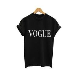 Dámské tričko s anglickým potiskem Vogue