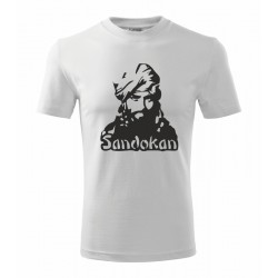 Sandokan - Pánské tričko s potiskem  Sandokana