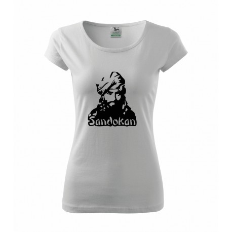 Dámské tričko Sandokan, vtipný dárek pro ženu