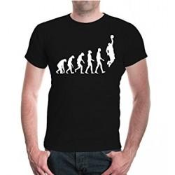 Evolution Basketball - pánské tričko evoluce basketbalisty