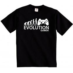 Pánské tričko evoluce počítačového hráče, evolution gamer