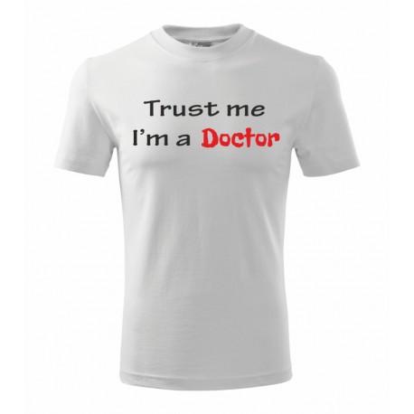 Trust me. I am Bc. - pánské tričko pro bakaláře