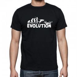 Pánské tričko evoluce