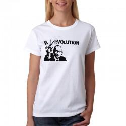 Putin Revolution - Dámské Tričko s vtipným potiskem