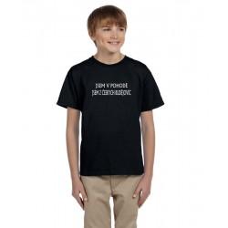 Jsem v pohodě. Jsem z Českých Budějovic - Dětské tričko s potiskem města Českých Budějovic