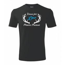 Zrozen pro LOV, přinucen pracovat - Pánské vtipné dárkové tričko