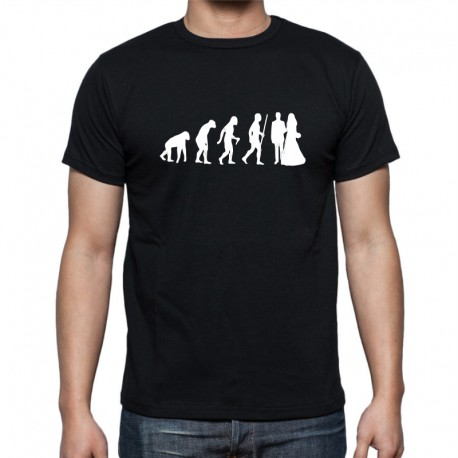 Pánské tričko Evoluce Manželství