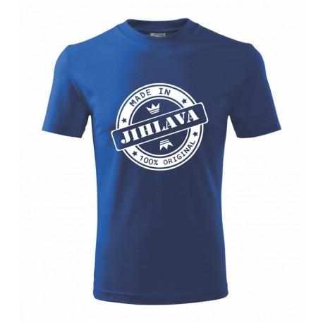 Dětské tričko made in Jihlava
