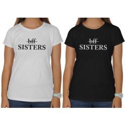 Sisters, dámské tričko vhodné jako dárek pro sestru nebo kamarádku