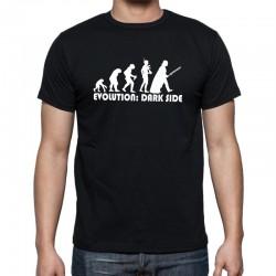Pánské tričko evoluce dark side
